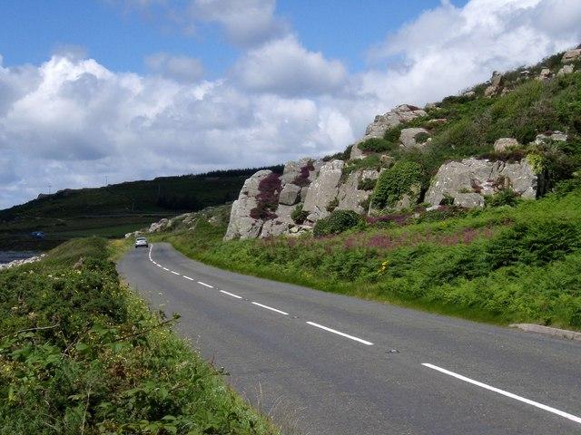 Rock outcrop, Rocks of Garheugh