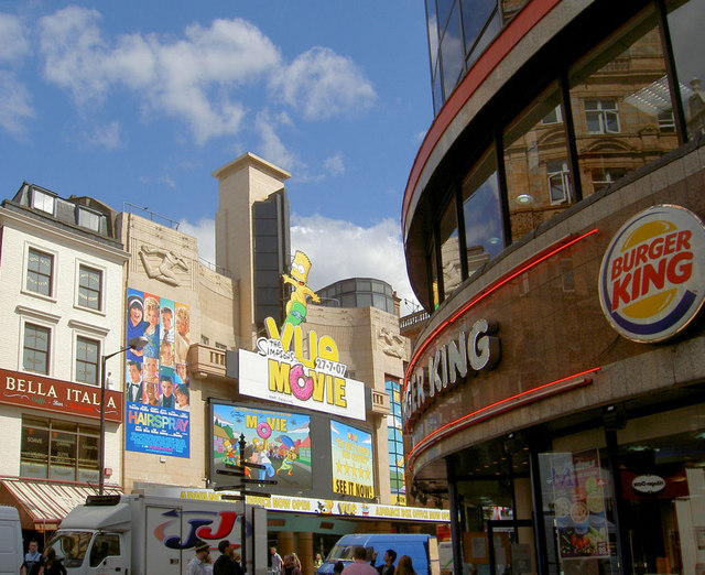 London or New York, American culture in London.