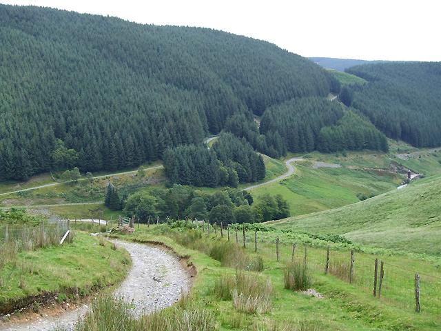Steep Drop to Soar y Mynydd, Ceredigion