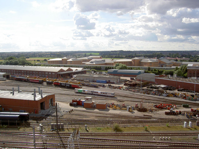 Doncaster prison from rail car park level 6.