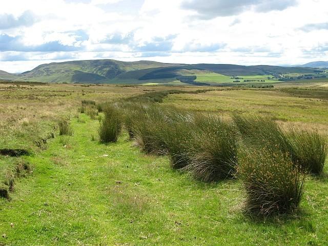 Footpath near Dunsyre