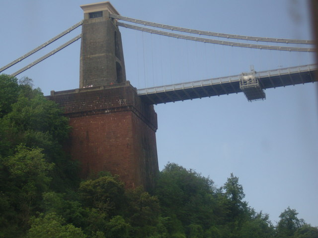 Clifton Suspension Bridge from the A4