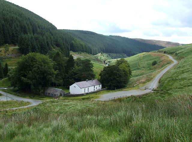 The Camddwr Valley at Soar y Mynydd, Ceredigion