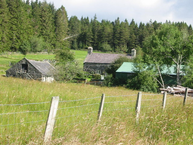 Graigddu Isaf farmhouse