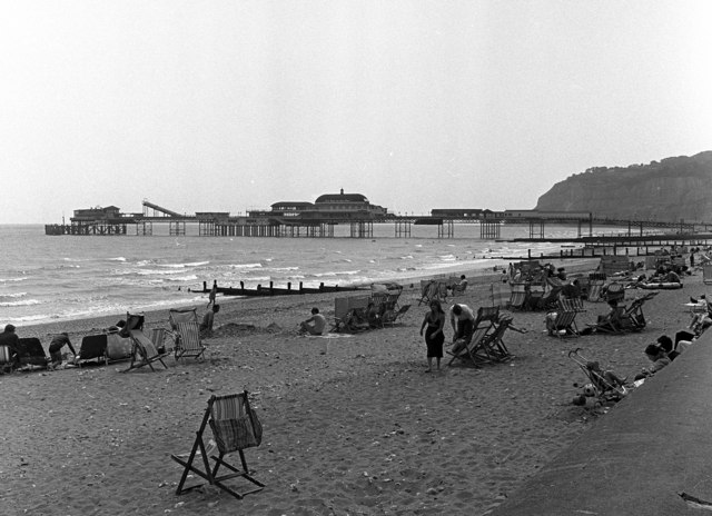 Shanklin Beach and Pier