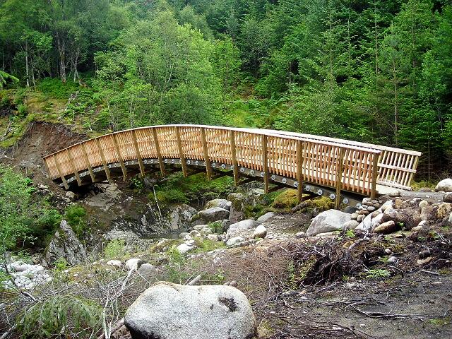 Bridge in Leanachan Forest