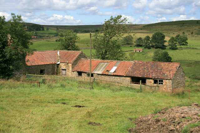 Abandoned Farm Buildings, Westgate Farm