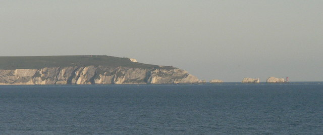 The Needles from Barton on Sea