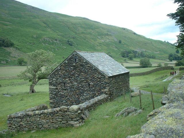 Field barn in Grisedale valley