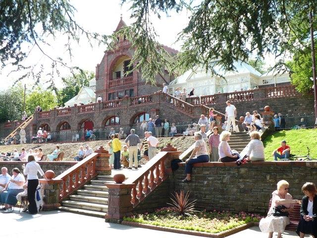 The Pavilion and Terrace, Belle Vue Park