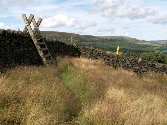 Boundary Wall meets Boundary Wall