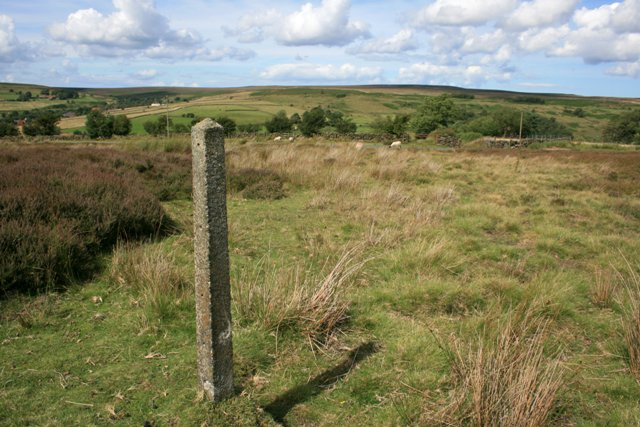 Concrete Post, Commondale Moor