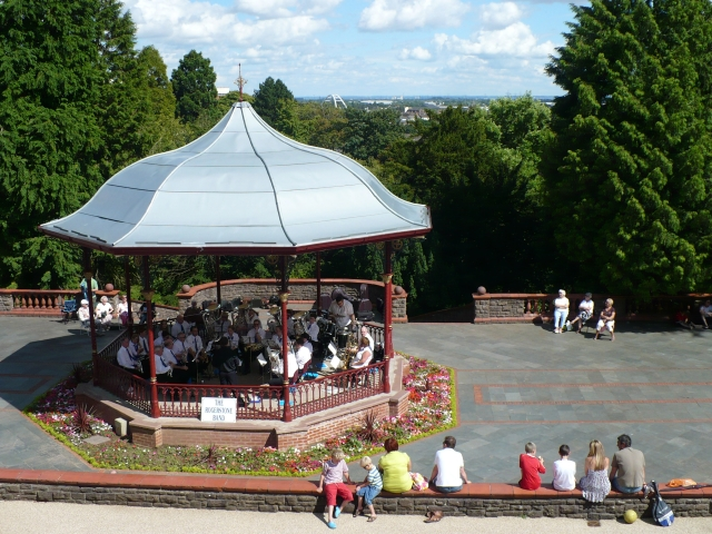 The Bandstand, Belle Vue Park, Newport