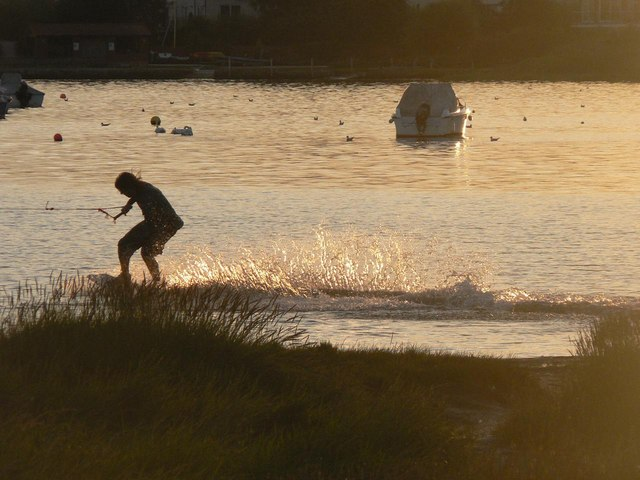 Makeshift surfer