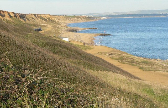 Barton on Sea: cliffs