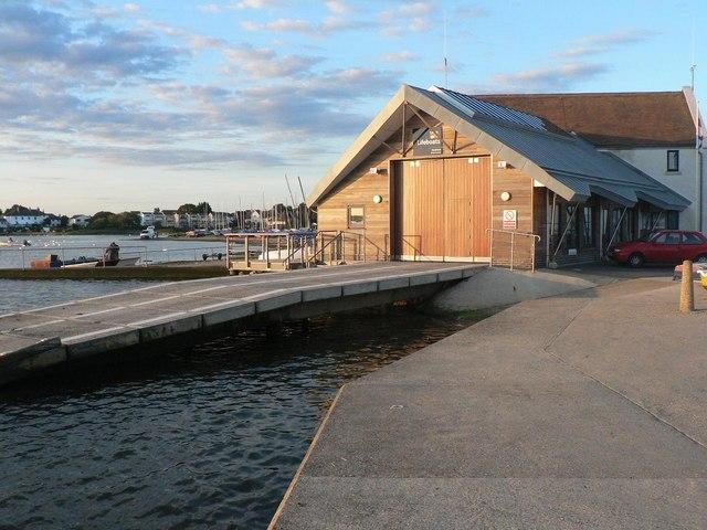 Mudeford: lifeboat station
