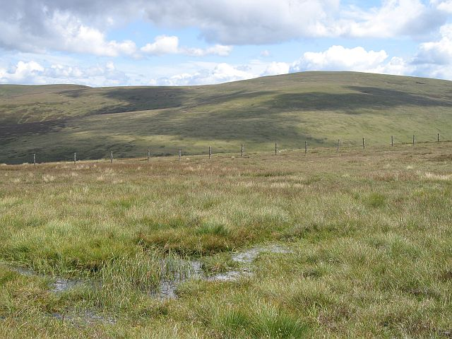 Wet land on Broad Law