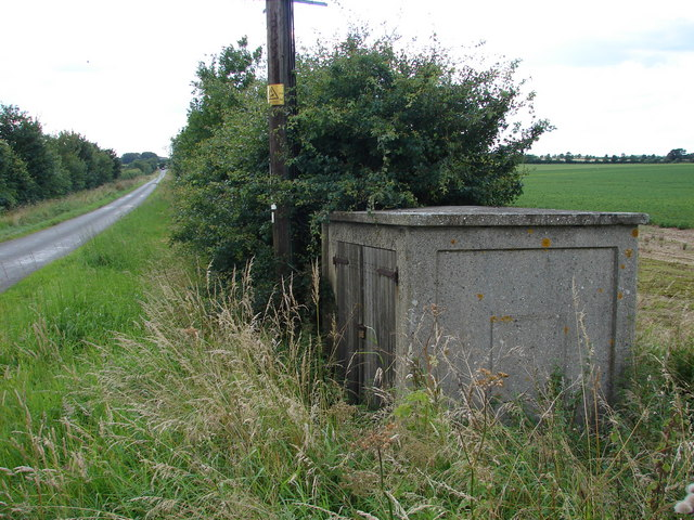 Hut at Side of Road