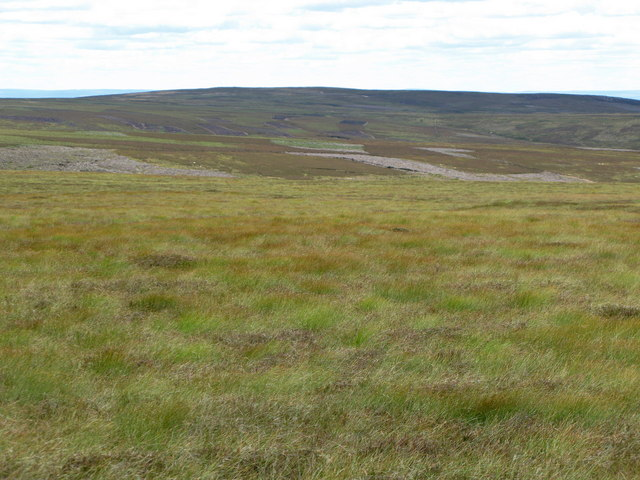 Featureless boggy moorland
