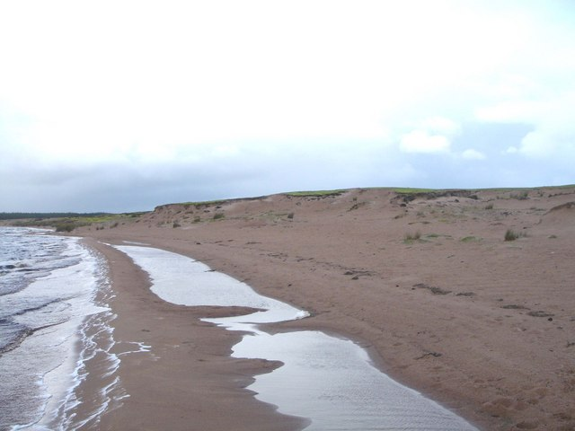 Sand Deposits at Loch More