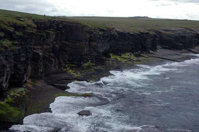 North Sandwick cliffs