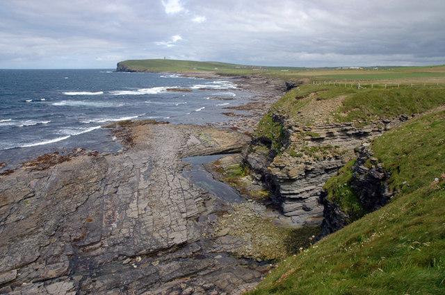 Marwick coastline