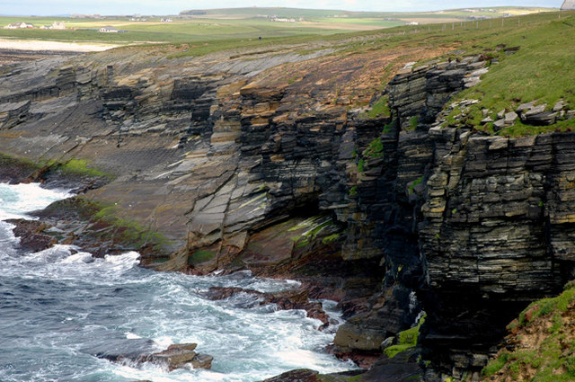 Atlantic coastline, Birsay