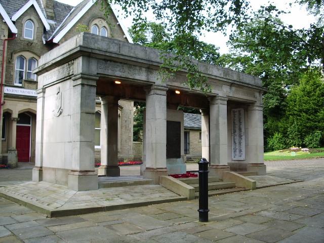 War Memorial, Albert Road, Colne