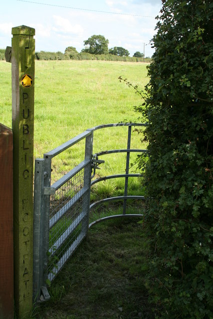 Modern Kissing Gate.