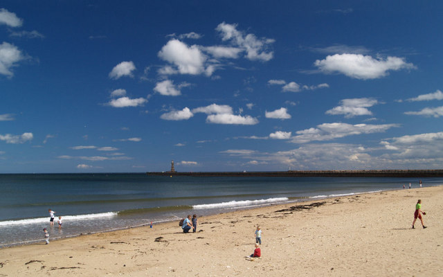 Roker beach.