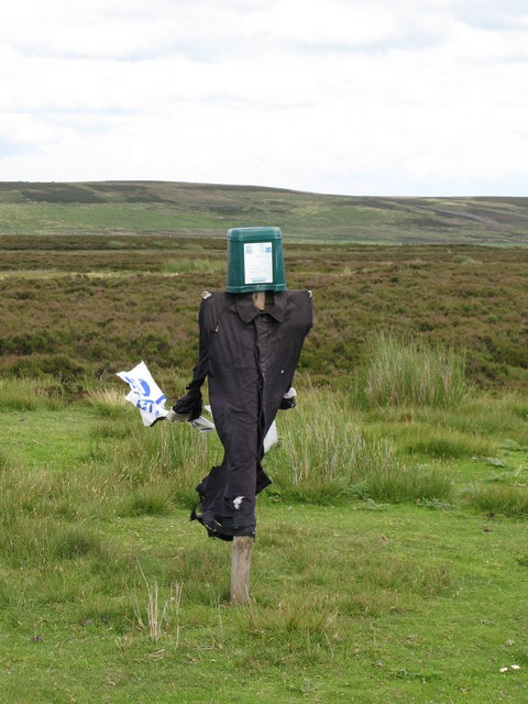 Scarecrow on Birkside Fell