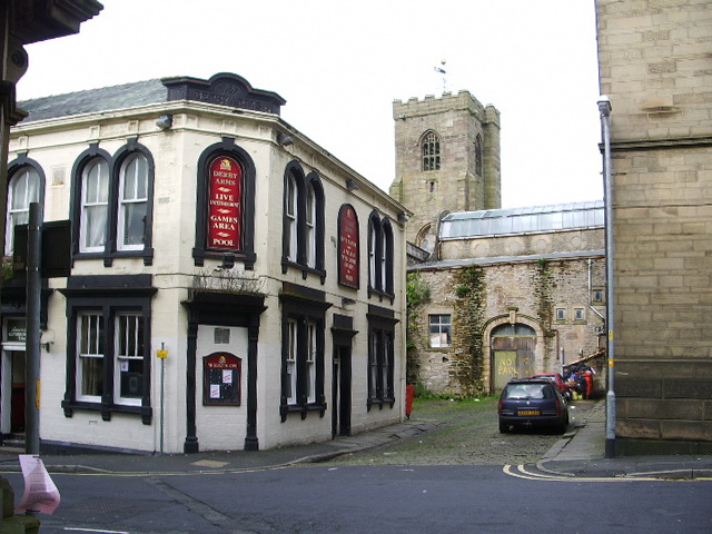 Derby Arms, New Market Street, Colne