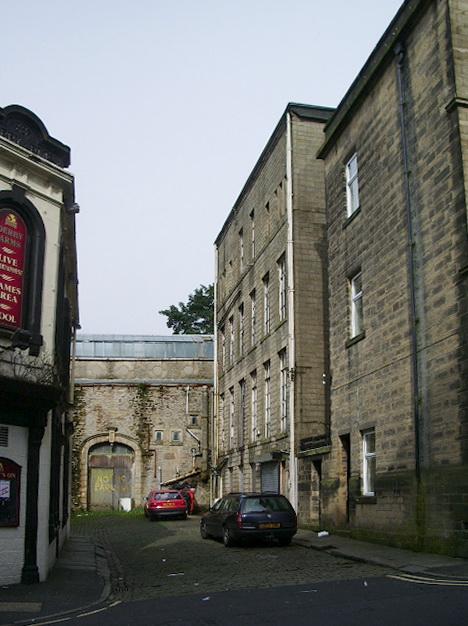 Back street in Colne