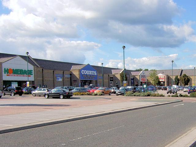 Great North Retail Park, Leeds Road