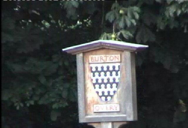 Burton Overy Sign