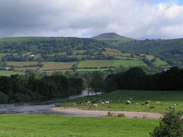 Farmland near Abergavenny