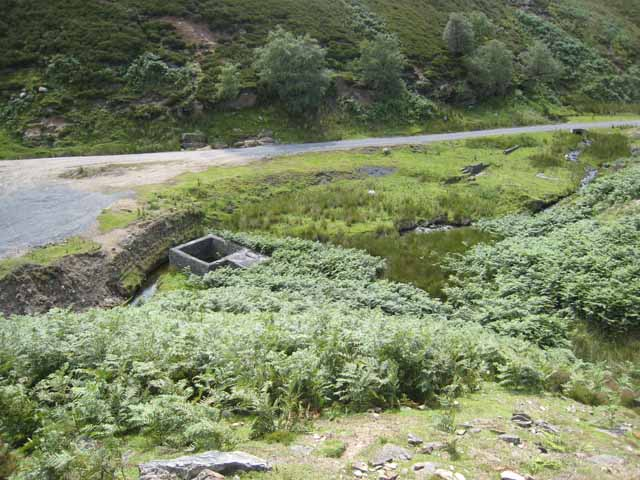 The valley of Sharnberry Gill