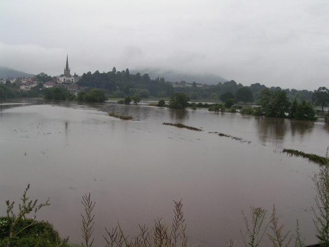 Flooding in Ross
