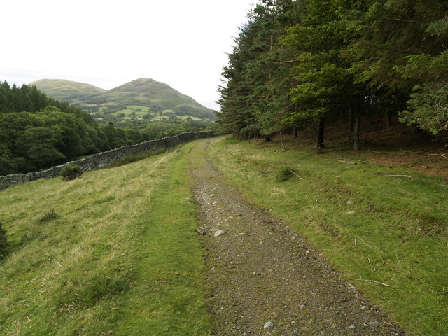 The path to Loweswater Hamlet