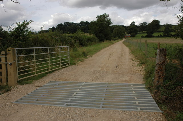 Driveway to Cherington Hill