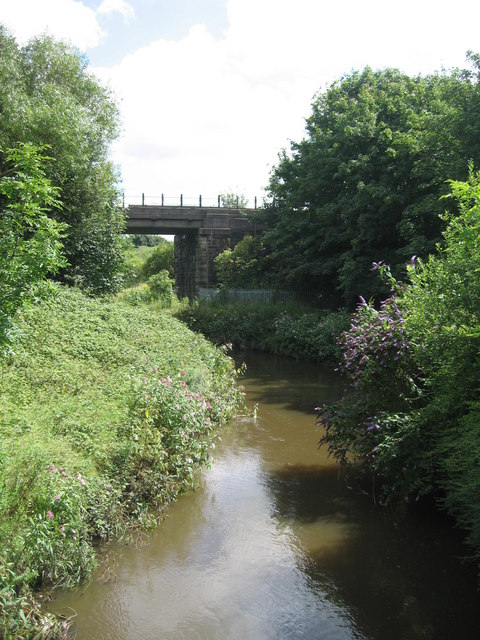 The River Douglas from Warrington Road