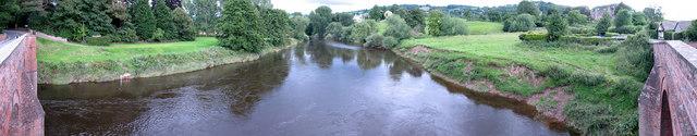 Panorama image taken from the Bridge