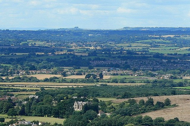 2007 : View from Westbury White Horse