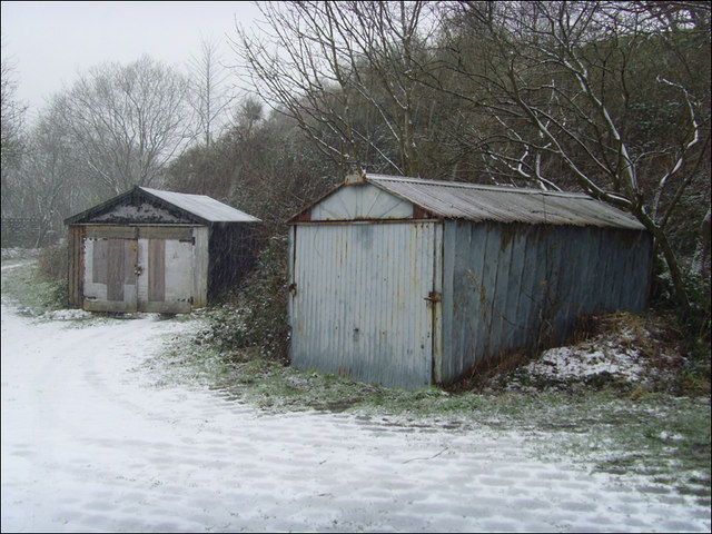 Old garages:Winter