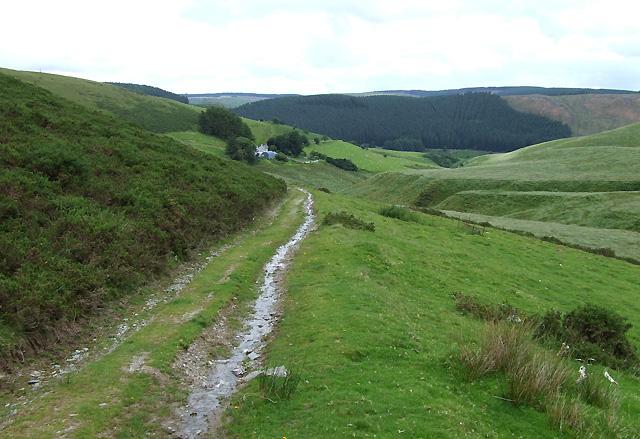 Bridleway to Soar y Mynydd, Ceredigion