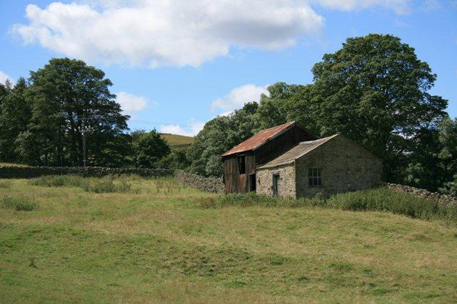 Barns, Near Grinton