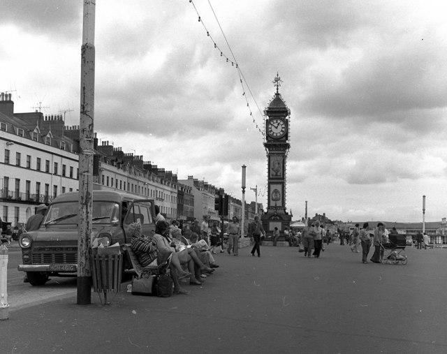 Weymouth, Promenade and Jubilee Clock Tower