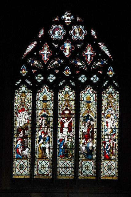 The east window, Todenham Church