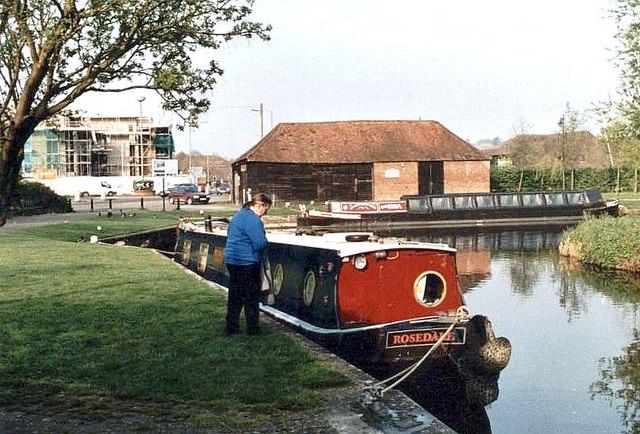 2004 : Godalming Wharf