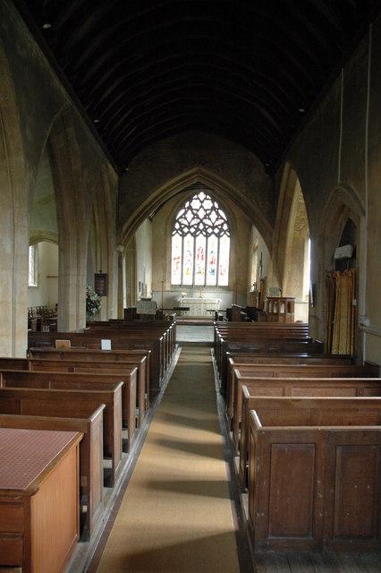 The Nave, Todenham Church